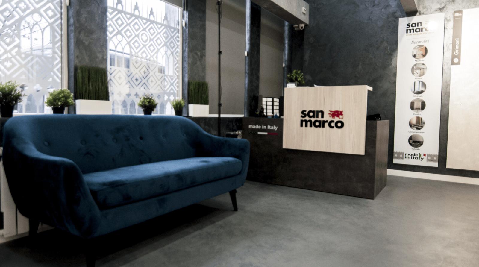 Мережа студій фарб TColor - офіційний представник San Marco
